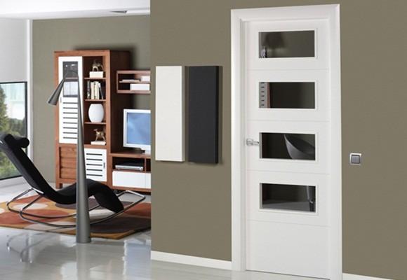 Puertas artama puertas de interior puertas de cristal for Puertas para casas minimalistas