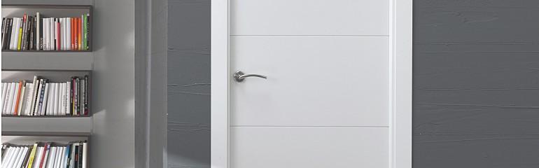 Las puertas lacadas, un blanco perfecto !