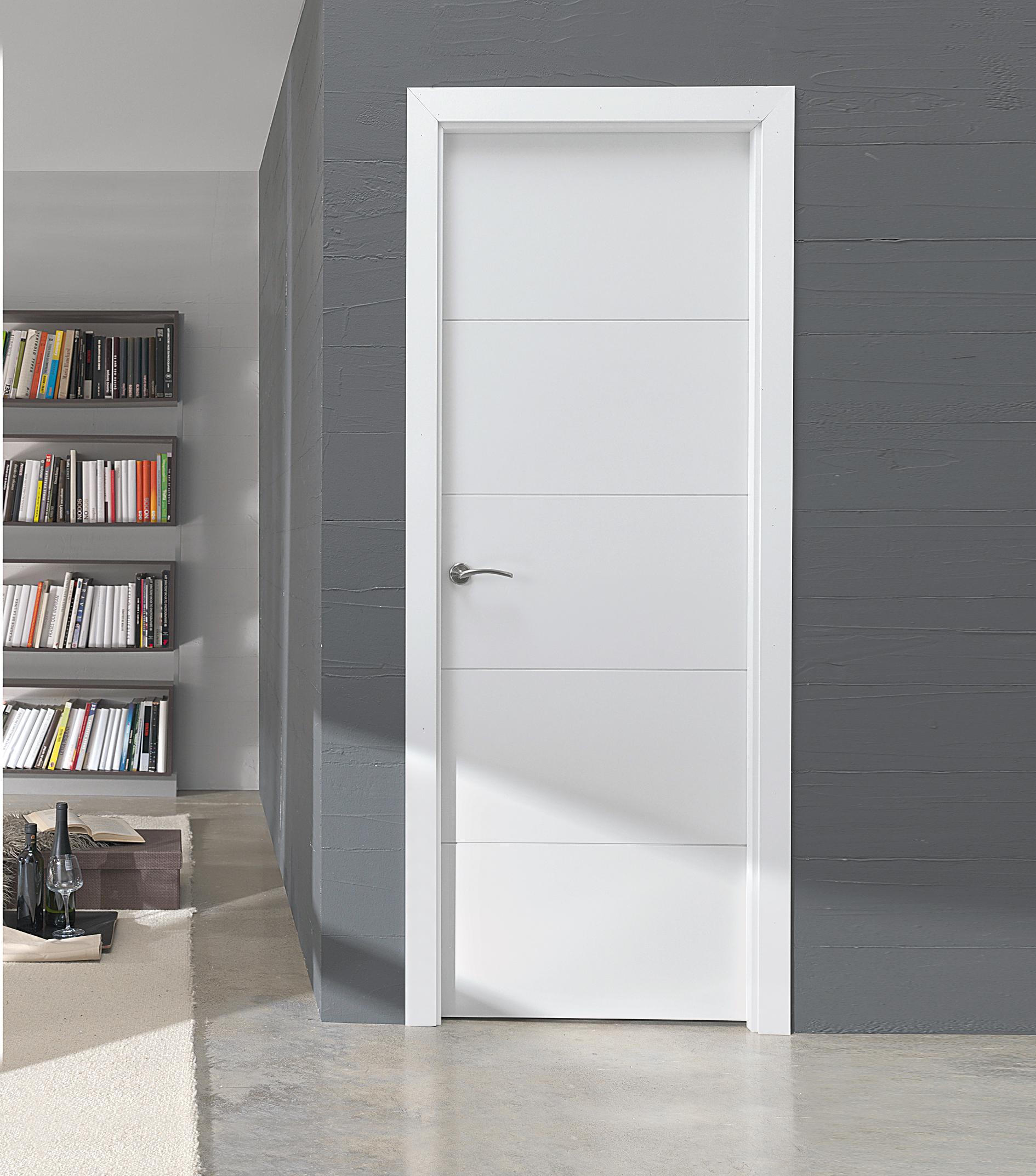 Puertas lacadas madrid artama decora - Puertas modernas de interior ...