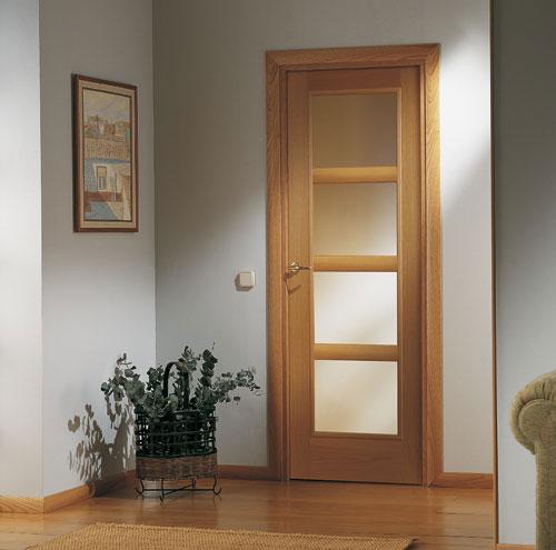 Puertas artama puertas de interior puertas de cristal for Puertas en madera para interiores