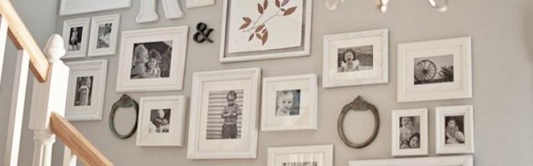 Consejos para decorar tus paredes con fotografías